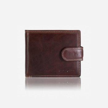JEKYLL & HIDE | Men's Oxford Leather wallet /Coffee