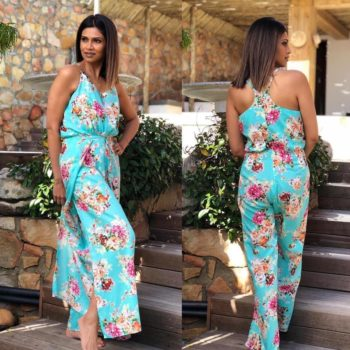 The Girl From Ipanema | Floral Jumpsuit