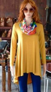 Donnabella | Elita Top - Ochre